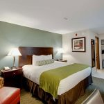ada accessible king bed room at Best Western Plus The Inn at Hampton