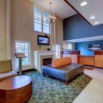 front desk and lobby at Best Western Plus The Inn at Hampton