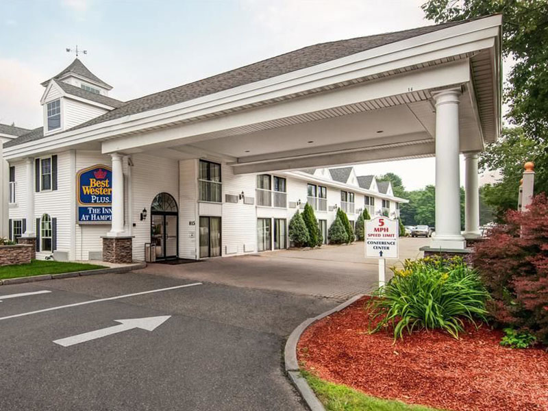 Best Western Plus Inn of Hampton building exterior